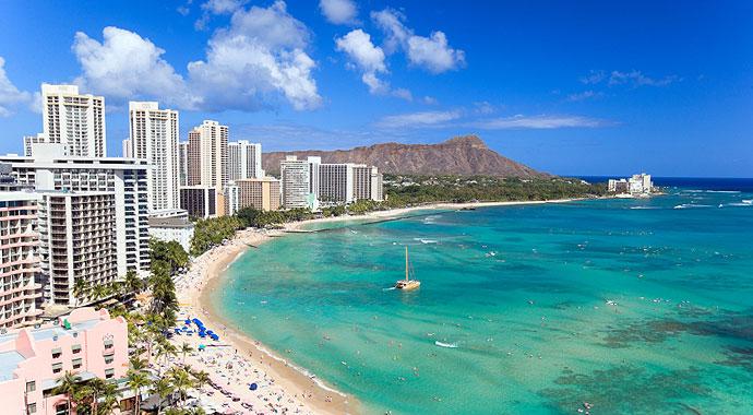 690x380 Oahu Waikiki Beach Diamond Head